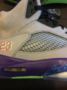 4ebf7a73e28b Are these Jordan Bel Air 5s real or fake