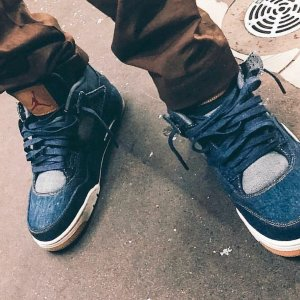 huge selection of 143a5 61f13 Air Jordan 4 x Levi's | NikeTalk