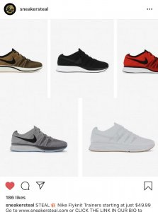 2966260860522 OFFICIAL  Nike Zoom FLYKNIT Collection - Racers + Trainers ONLY ...