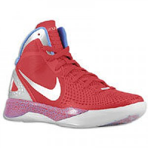 the latest 5a759 1b995 Blake Griffin Nike Zoom Hyperdunk 2011 Supreme - Mens - Sport Red Metallic  Silver Treasure Blue