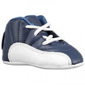 newest 2c37a 33309 Jordan Retro 12 - Infants - Obsidian University Blue White French Blue