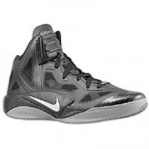 new styles e7d12 d9578 Nike Zoom Hyperfuse 2011 Supreme - Mens - Black/Metallic Silver/Cool ...