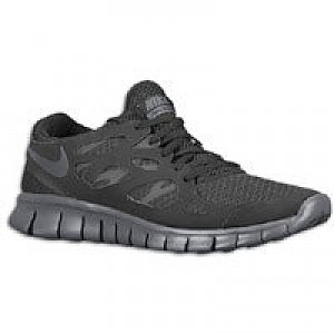 nike free run mens black