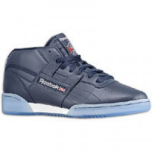 0b63690c6646f7 Reebok Workout Mid Ice - Mens - Athletic Navy White Ice