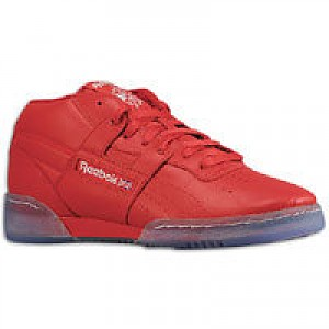 9f372670d057f8 Reebok Workout Mid R12 - Mens - Red White Ice