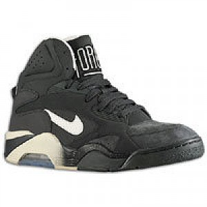 Charles Barkley Nike Air Force 180 Mid - Mens - Anthracite/Vibrant  Yellow/Black