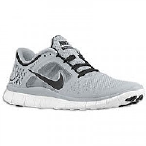 promo code 1a399 c24e9 Item Information. Nike Free Run + 3 - Mens - Wolf Grey Black White ...