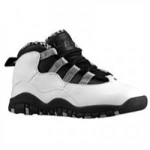 42fa2aa68f58 Item Information. Jordan Retro 10 - Boys Grade School - White Black Light  Steel Grey Varsity Red ...