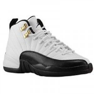 sports shoes c6586 6194a Jordan Retro 12 - Boys Grade School - White/Black/Taxi ...