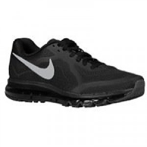sale retailer 15f9f fdb8a Nike Air Max 2014 Men s Running Shoe Black Reflective Silver-Anthracite-Dark  Grey, Style - Color   6
