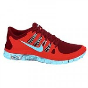 finest selection 3e6ed 7348a Nike Free 5.0+ Men's Running Shoe Challenge Red/Gamma Blue ...