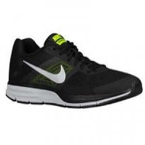 e11e2d1e4e04 Nike Air Pegasus+ 30 Men s Running Shoe Black Metallic Silver-Volt ...