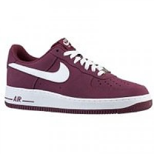 wholesale dealer a40f7 ff8cb Item Information. Nike Air Force 1 Men's Shoe Cherrywood Red/White ...