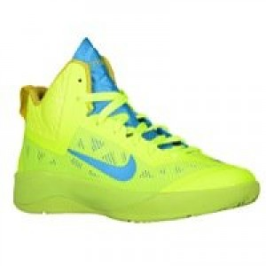 check out bc284 476eb Nike Hyperfuse 2013 - Boys Grade School - Volt Bright Citron Vivid Blue