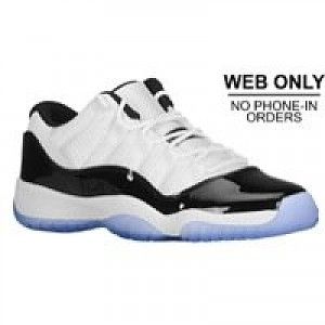 best cheap ad4a4 3f16e Jordan Retro 11 Low - Boys Grade School - White/Black/Dark ...