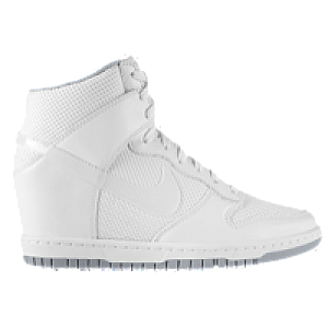 finest selection e44c8 9def8 Nike Dunk Sky Hi - Womens - White White Wolf Grey