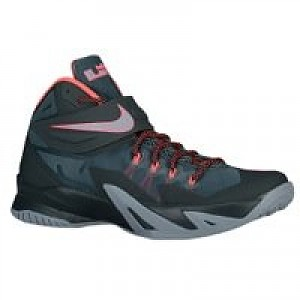 cheap for discount fe93a e1dd5 Nike Zoom LeBron Soldier VIII Men s Basketball Shoe - Mineral  Slate Seaweed Magnet Grey Hyper Punch
