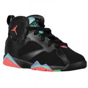 6560e874eecc Jordan Retro 7 - Boys Preschool - Black Blue Graphite Retro Infrared 23