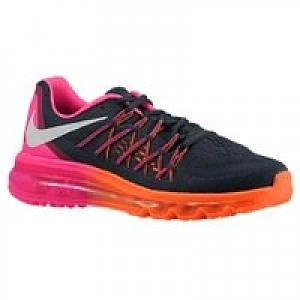 sports shoes b015f 5851e Item Information. Nike Air Max 2015 - Womens - Classic Charcoal Pink Pow Total  Orange White ...